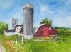 Wagner Farm Watercolor