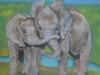 "Pastel ""Mother and Daughter Love"""