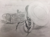 Graphite Pencil Drawing, Amreeta High School Student