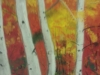Silver Birch Trees in the Fall by Anne Kirk